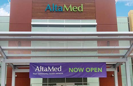 Front of AltaMed South Gate Clinic